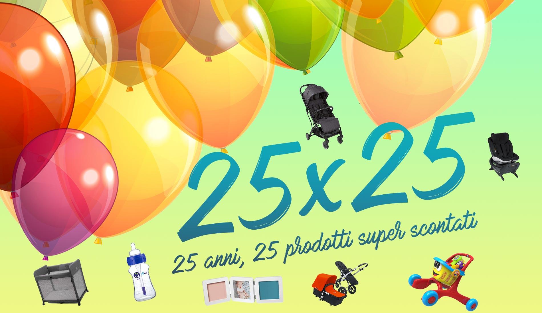 25 anniversario del negozio per bambini Faraldi & Otten a Bordighera